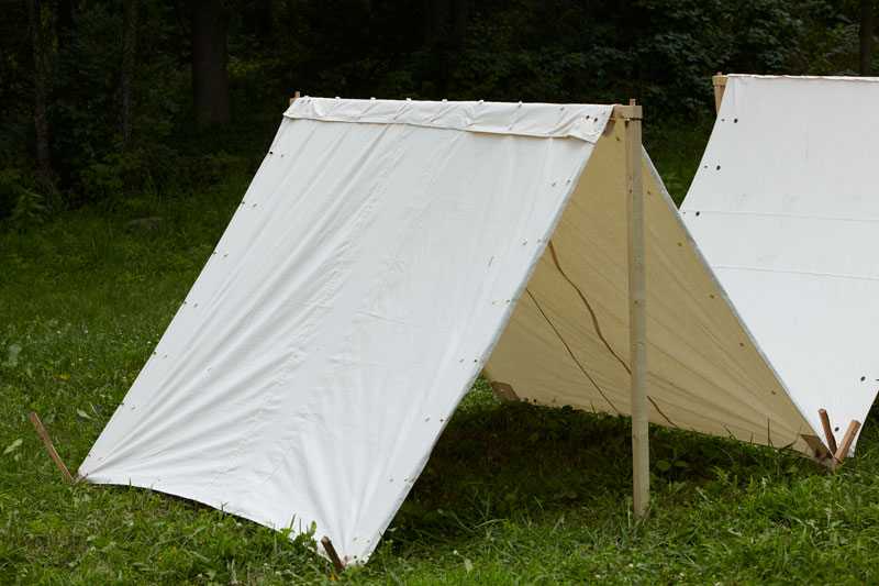 Half Shelter Tent : Shelter half blanks wambaugh white co